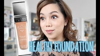 NEW Physicians Formula Healthy Foundation SPF 20 First Impression Review 9 Hour Demo  - itsjudytime