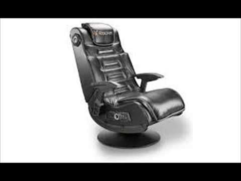 X Rocker Pro Pedestal Gaming Chair Yellow Adirondack 51396 Series 2 1 Video Review