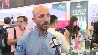 Colorful wines amaze Hong Kong Wine and Spirits Fair