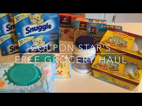 FREE GROCERIES!!!  COUPONING IN CANADA!