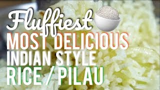 How to make Pilau / Rice - Technique