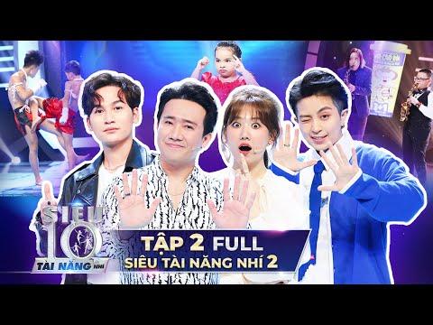 SIÊU TÀI NĂNG NHÍ 2 - TẬP 2 | Trấn Thành, Hari Won, Ali Hoàng Dương thi nhau xếp hàng học Muay Thái
