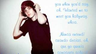 Justin Bieber Feat. Jessica Jarrell-Overboard / Por la borda (Lyrics English/Spanish)