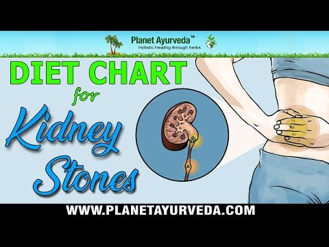 Diet Chart For Kidney Stones (Renal Calculi) - Foods To Be Avoided & Recommended