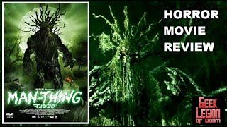 Marvel's MAN-THING ( 2005 Rachael Taylor ) Superhero Horror Movie Review