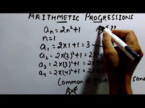 Arithmetic Progressions(A.P) Part-1 Trick | MBA| IBPS PO/CLERK | SSC | RBI | LIC ADO/AAO| SBI PO