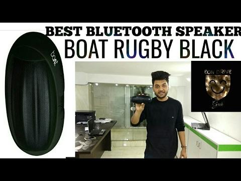 Boat rugby bluetooth speaker black 2017