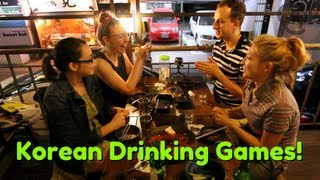 How to Play Korean Drinking Games
