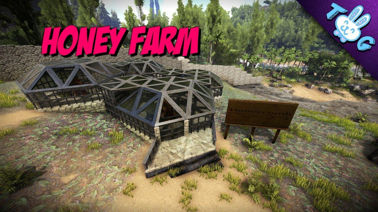 Ark apiary honey farm lets build youtube ark apiary honey farm lets build malvernweather Image collections