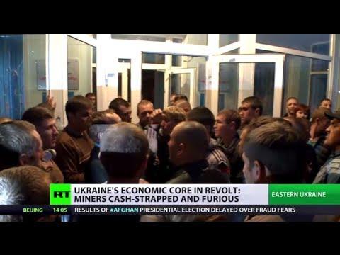 Miners' Fury: E.Ukraine