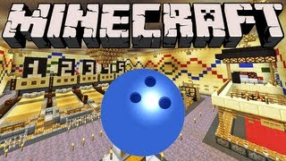 Game | Minecraft Bowling Alley | Minecraft Bowling Alley