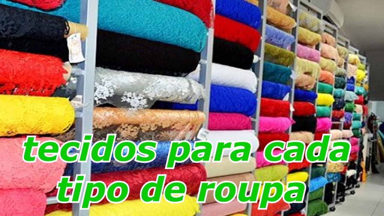 Quais tecidos usar para cada tipo de roupa por janaina for Tipos de estanques para acuicultura