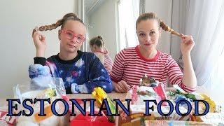 Пробуем еду из Эстонии! Trying Estonian Food!