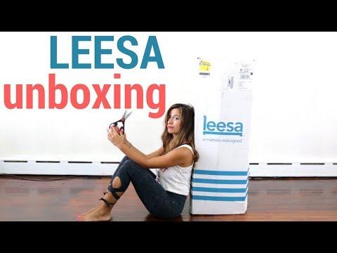 📦 Leesa Mattress Unboxing, Leesa Unboxing Review :)