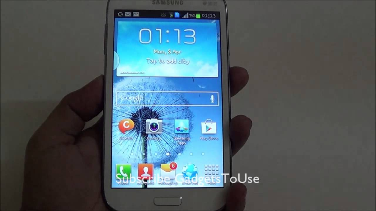 Solved - Fix Slow UI Response of Home Button on Samsung Galaxy Grand Duos