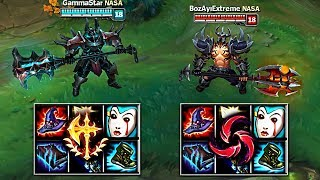 WHICH RUNE IS BETTER! SAME BUILD HAIL OF BLADES vs CONQUEROR