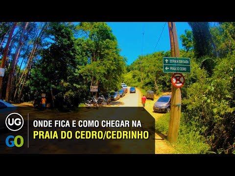 Onde fica e Como chegar na Praia do Cedrinho ou Cedro em Ubatuba pela rodovia do centro e região sul