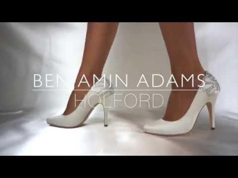 Benjamin Adams Holford crystal wedding shoe