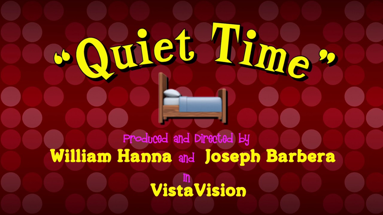 Tom and Jerry - Quiet Please (1945, 1958) Titles Sequence ...