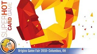 SUPERHOT: The Card Game — game preview at Origins 2018