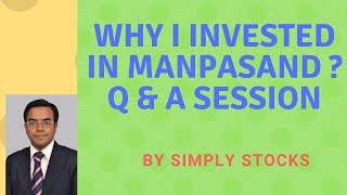 Manpasand Beverages, Why I bought for 375? Question and Answer Session with Simply Stocks