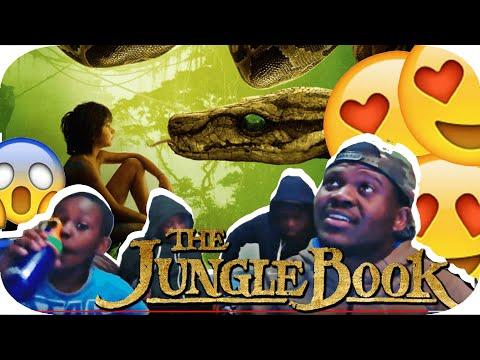 The Jungle Book Official Super Bowl Trailer REACTION