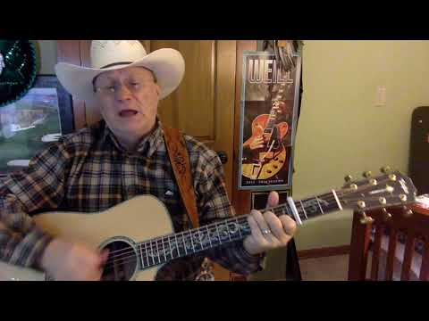 2284 -  Four Walls  - Jim Reeves cover  - Vocals -  Acoustic guitar & Chords