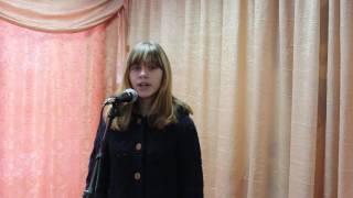 Птица песня Серебрякова Виктория
