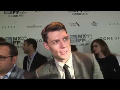 """Gone Girl: Patrick Fugit """"Officer Jim Gilpin"""" New York Movie Premiere Interview"""