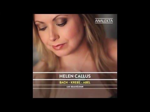 Bach - Krebs - Abel /  Helen Callus & Luc Beauséjour