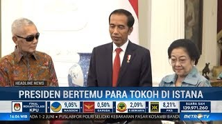 Megawati dan Try Sutrisno Beri Ucapan Selamat ke Jokowi