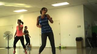 "Zumba ""Boogie Shoes"" Glee version"