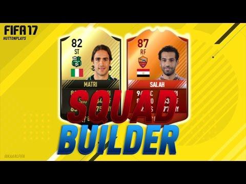 FIFA 17 Squad Builder - THE MOTM EGYPTIAN MESSI! w/ iMOTM Salah + IF Matri!