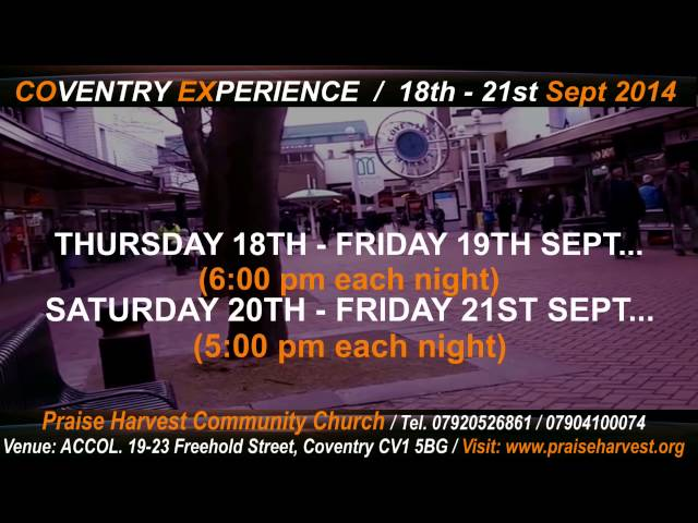 Coventry Experience