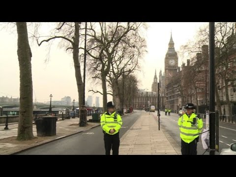 Tight security in Westminster as commuters return after attack