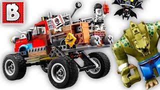 LEGO Batman Movie Killer Croc Tail-Gator 70907 Live Build