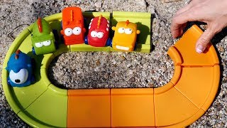 Andiamo al mare con Maria e le macchinine colorate - video divertenti per bambini