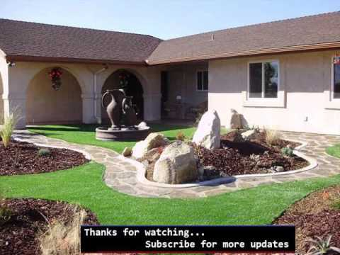artificial grass front lawn fake