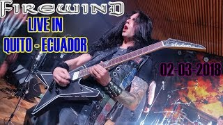 FIREWIND LIVE IN QUITO - ECUADOR 2018