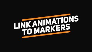 After Effects Tutorial: Link-Animationen Marker | Steuerung der Animationen mit Markern