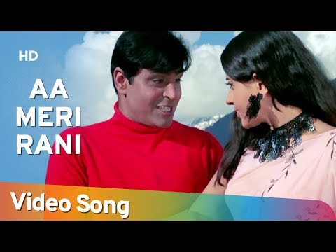 Aa Meri Rani Leja Chhalla Nishani (HD) - Anjaana Song - Rajendra Kumar - Babita -Old Bollywood Songs