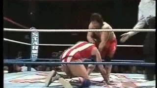 WOS - Fuji Yamada (Jushin Liger) vs Mark Rollerball Rocco