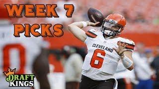 Week 7 NFL DraftKings Picks