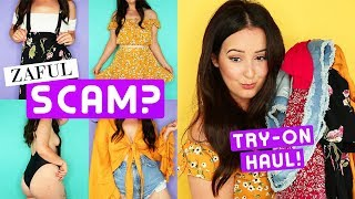 ZAFUL TRY-ON HAUL! IS IT A SCAM OR NAH? | by tashaleelyn