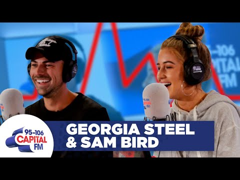Love Island's Sam Bird Test Georgia Steel's Loyalty On A Lie Detector 😵 | FULL INTERVIEW