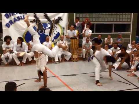Capoeira Biriba Brasil Batizado 2014 - Instrutores Argola e Cacao