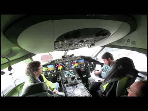 Raw Video: Boeing 787 Dreamliner interior