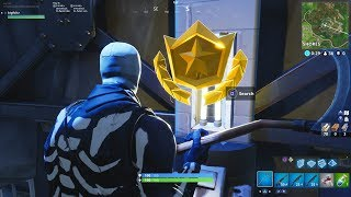 Week 4 FREE Battle Star LOCATION! *FREE* Battle Pass Tier (Fortnite Blockbuster Challenge Week 4)