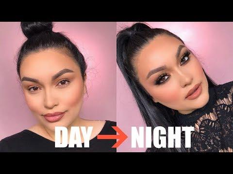 DAY to NIGHT Makeup Tutorial | Sandi Jarquin thumbnail