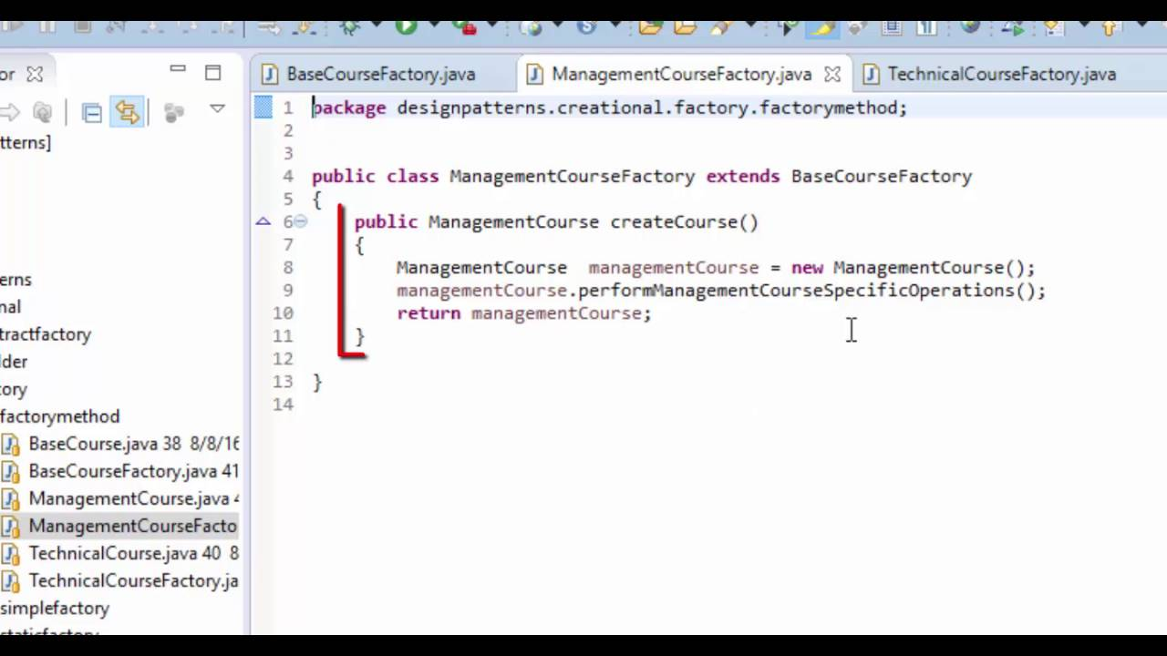 Creational Design Patterns in Java:Factory Design Pattern Practical Example